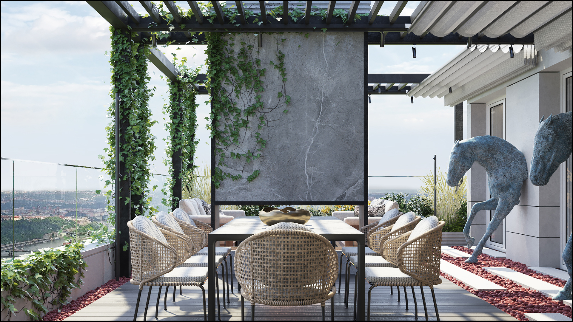 DISCREET LIGHT INTERIOR'S TERRACE